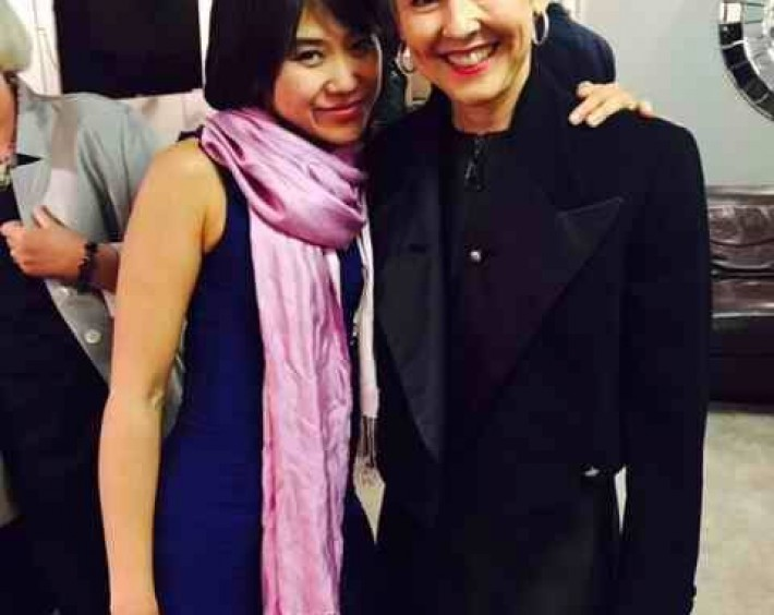 Backstage with San Francisco Symphony President Sakurako Fisher in London