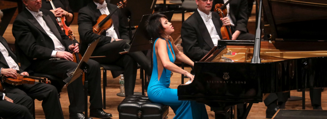 "Yuja Wang plays Ravel and more with ""energy and flair"" in concert"