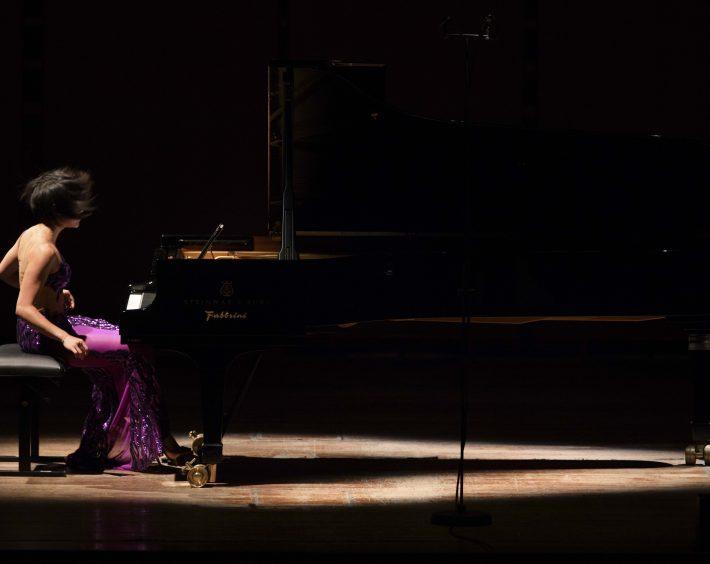 Recital at Accademia Nazionale di Santa Cecilia. Photo: Musacchio & Ianniello