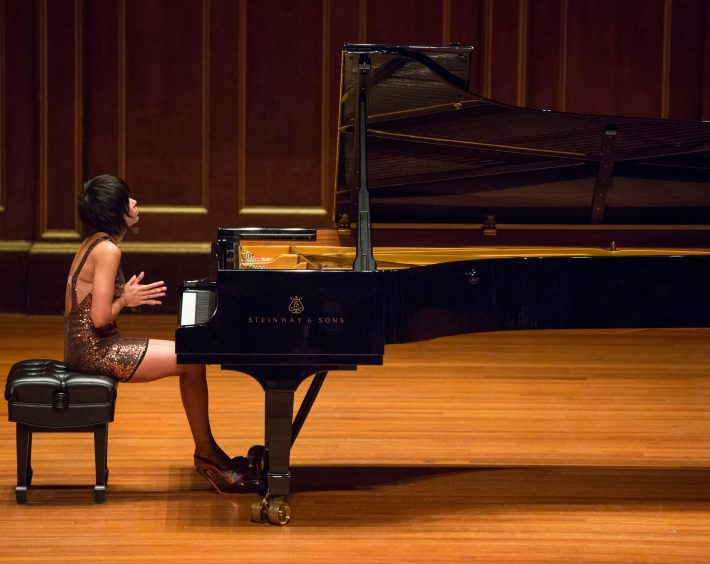 NEC's Jordan Hall recital, Boston. Photo: Robert Torres
