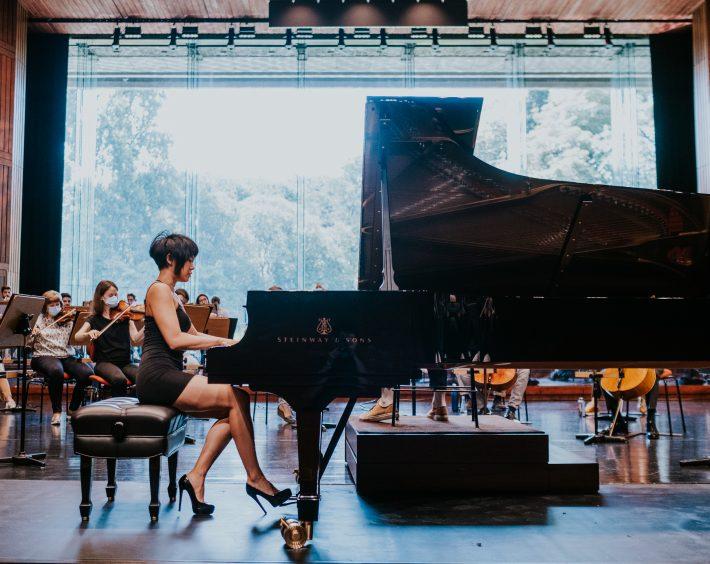 Yuja Wang. Photo: Pedro Pina / Gulbenkian Música
