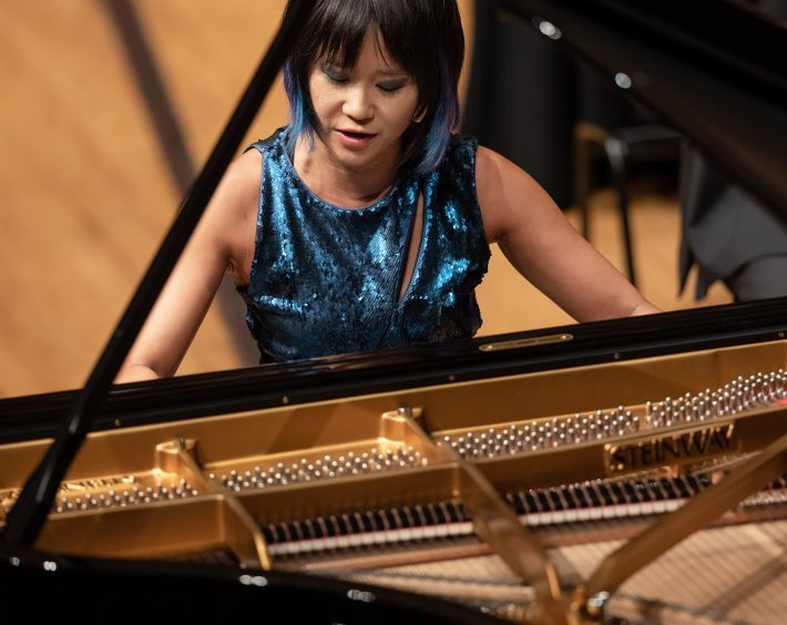 Yuja Wang at Lucerne Festival. Budapest Festival Orchestra. Photo: Manuela Jans
